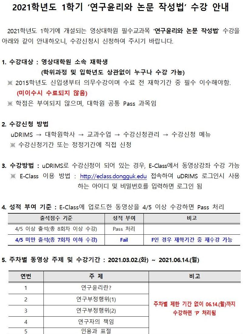 2021-1학기 연구윤리와논문작성법 수강 안내문001